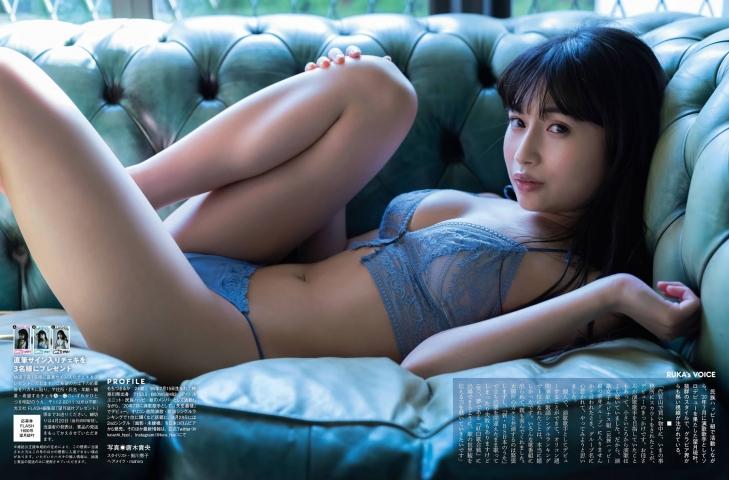 Ryuka Mochizuki swimsuit bikini gravure Her body and singing voice are glamorous009