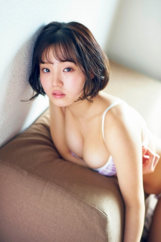 Hiyori Hanasaki Swimsuit Bikini Gravure Once in a millennium loli big tits change 8003