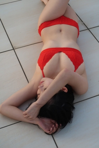 Hiyori Hanasaki Swimsuit Bikini Gravure Once in a millennium loli big tits change 8007