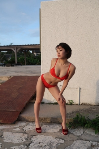 Hiyori Hanasaki Swimsuit Bikini Gravure Once in a millennium loli big tits change 8008