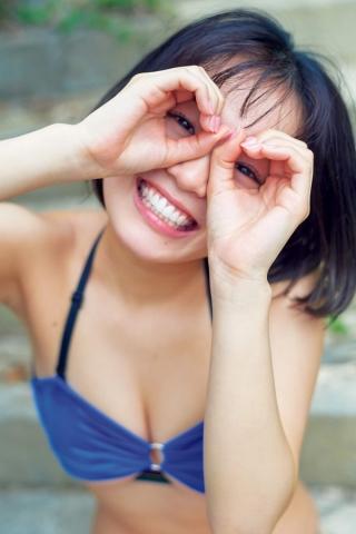 Hiyori Hanasaki Swimsuit Bikini Gravure Once in a millennium loli big tits change 8011