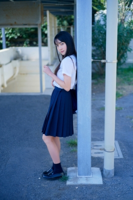 Lumika Fukuda Swimsuit Bikini Gravure Best high school girl002