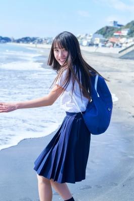 Lumika Fukuda Swimsuit Bikini Gravure Best high school girl005