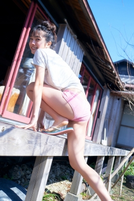 Lumika Fukuda Swimsuit Bikini Gravure Best high school girl012