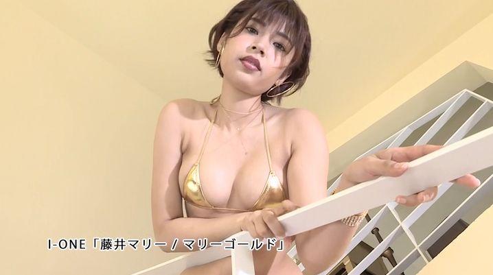 Marie Fujii Swimsuit Bikini Gravure Boldly exposes her dynamite body033