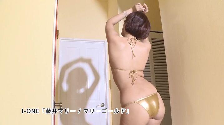 Marie Fujii Swimsuit Bikini Gravure Boldly exposes her dynamite body035
