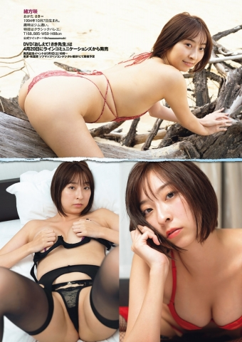 Marie Fujii Swimsuit Bikini Gravure Boldly exposes her dynamite body002