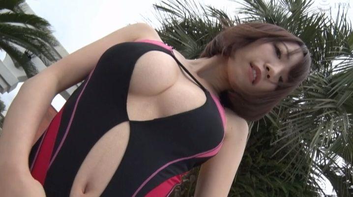 Airi Shimizu Swimsuit Bikini Gravure The genius is here007