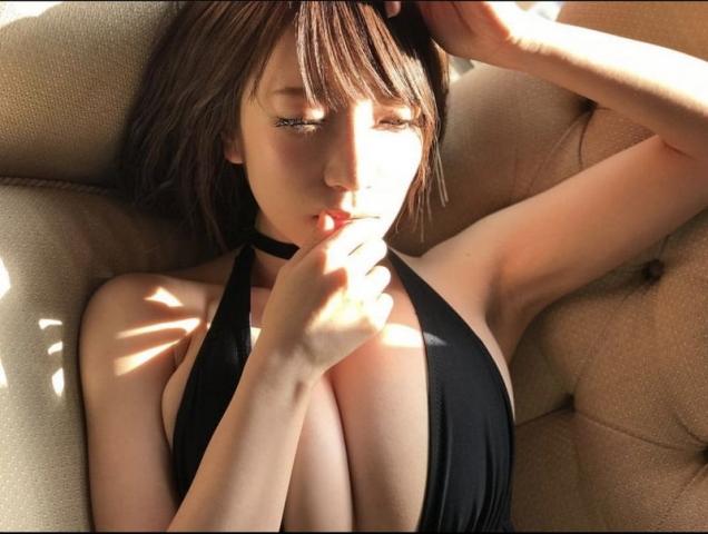 Airi Shimizu Swimsuit Bikini Gravure The genius is here034