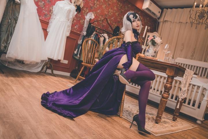 Jeanne dArc Orta Yideli Dress004
