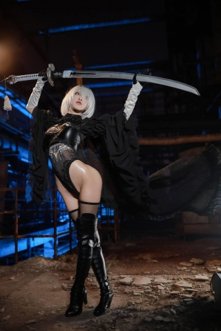 Sexy Costume 2B Nia Automata Cosplay011