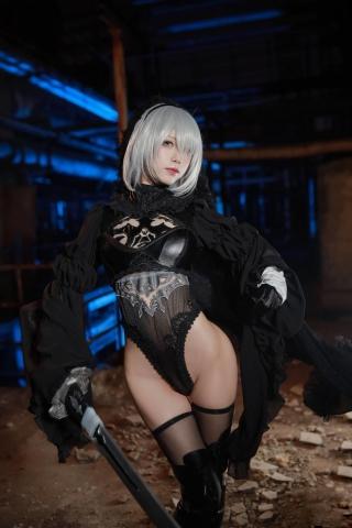 Sexy Costume 2B Nia Automata Cosplay013