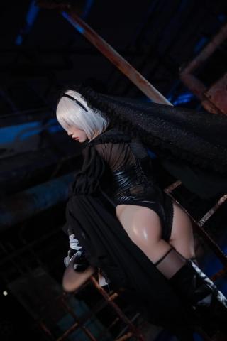 Sexy Costume 2B Nia Automata Cosplay016