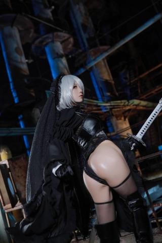 Sexy Costume 2B Nia Automata Cosplay020