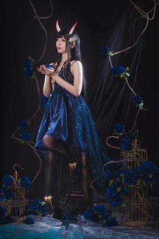 Rope of Cosplay Sexy Dress Azur Lane001