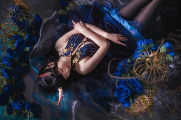 Rope of Cosplay Sexy Dress Azur Lane004