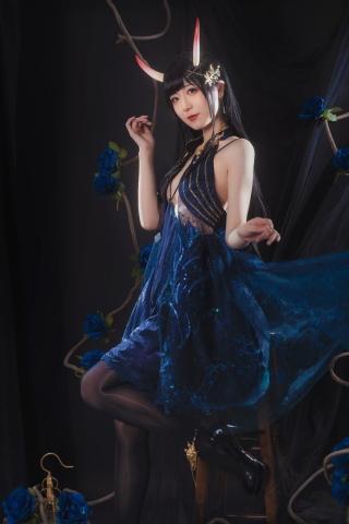Rope of Cosplay Sexy Dress Azur Lane011