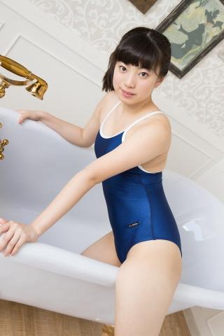 Sena Shinonome School swimsuit gravure High school freshman 16 years old042