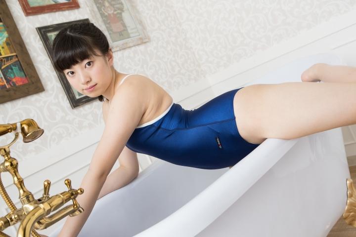 Sena Shinonome School swimsuit gravure High school freshman 16 years old043