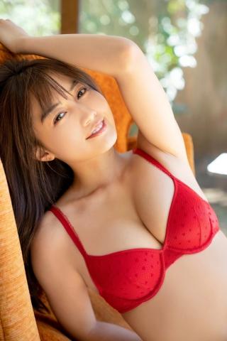 Hikari Kuroki swimsuit bikini gravure 20 years old high school 6th grader003
