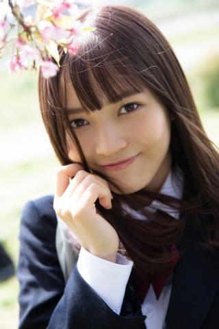 Nanako Kurosaki 17 years old active high school girl idol001