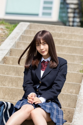 Nanako Kurosaki 17 years old active high school girl idol002