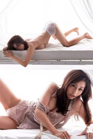 Asami Kumakiri Swimsuit underwear gravure Perfect hip of 40 years old018