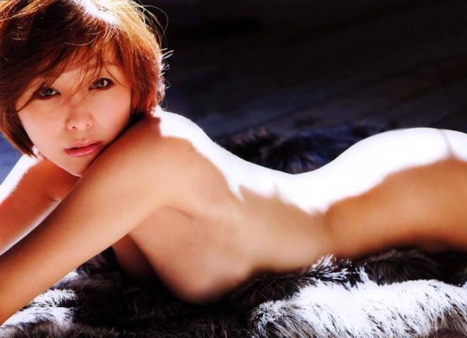 Asami Kumakiri Swimsuit underwear gravure Perfect hip of 40 years old030