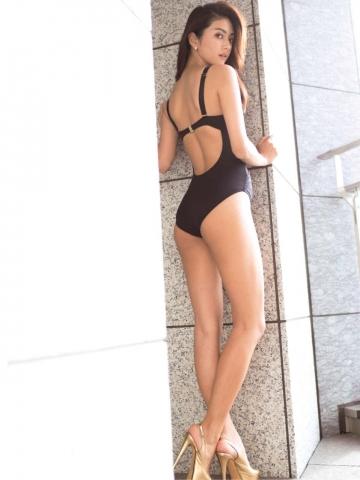 Tanaka Michiko Swimsuit Gravure First time005