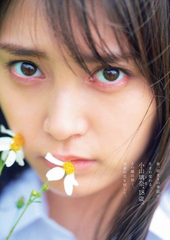 Rina Koyama swimsuit gravure 18 years old with an overwhelming sense of transparency002