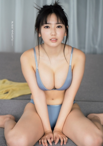 Swimsuit gravure Aika Sawaguchi, the gravure queen of 2042 whose starting line was a big hit003