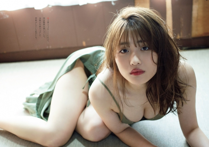 Momoka Ishida swimsuit gravure I feel like Ive become a real adult just for today004