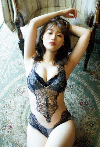 Momoka Ishida swimsuit gravure I feel like Ive become a real adult just for today008