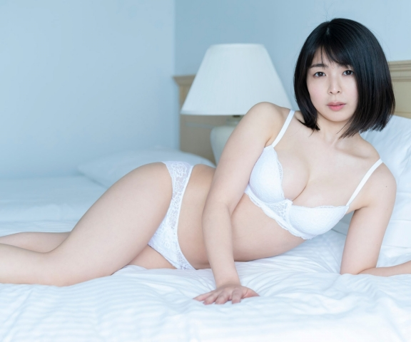 Momoko Ikeda swimsuit underwear gravure I may have taken off a little too much005