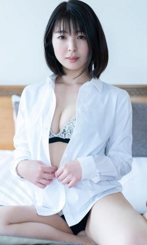 Momoko Ikeda swimsuit underwear gravure I may have taken off a little too much007