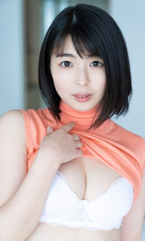 Momoko Ikeda swimsuit underwear gravure I may have taken off a little too much009