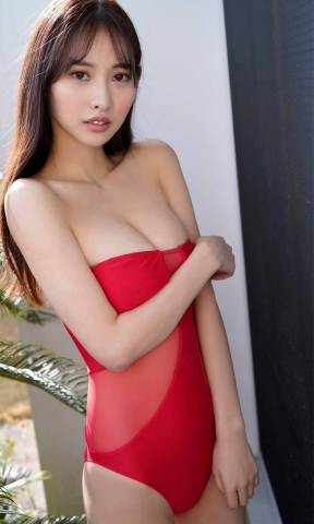 Anon swimsuit gravureThe body with a lot of presence2014