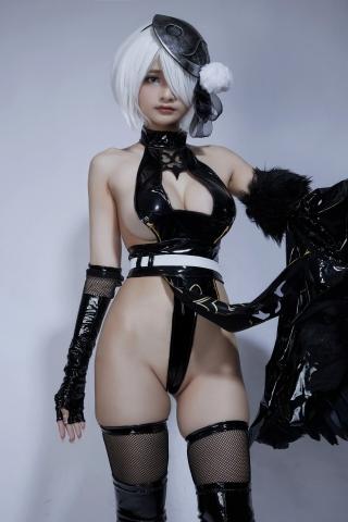 Cosplay Swimsuit Style Costume 2B Nier Automata NieR_Automata025