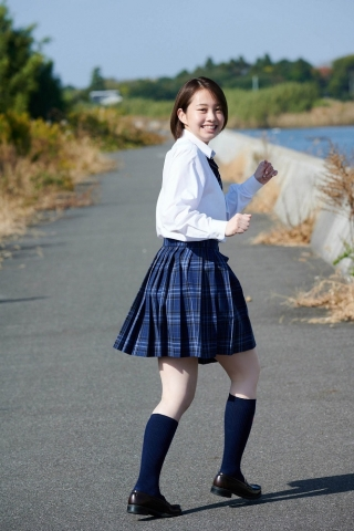 Ayuna Nitta A super close smile for both mind and body013