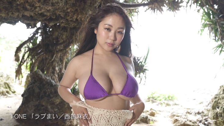 New Icup in swimsuit gravure by Mai Nishida009