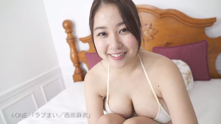 New Icup in swimsuit gravure by Mai Nishida031