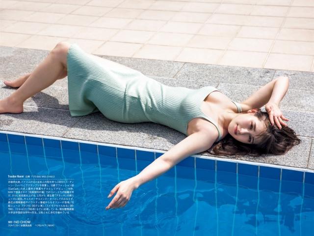 Naomi Trauden underwear gravure  Fascinating unguarded shots011