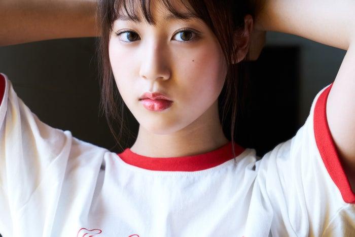 Arina Mitsuno Swimsuit gravure Beautiful girl with big eyes029