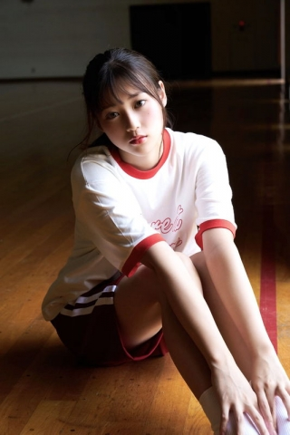 Arina Mitsuno Swimsuit gravure Beautiful girl with big eyes030