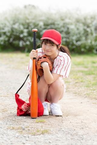 Nanako Kurosaki Baseball Girl and School Swimsuit002
