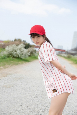 Nanako Kurosaki Baseball Girl and School Swimsuit003