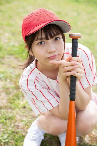 Nanako Kurosaki Baseball Girl and School Swimsuit005
