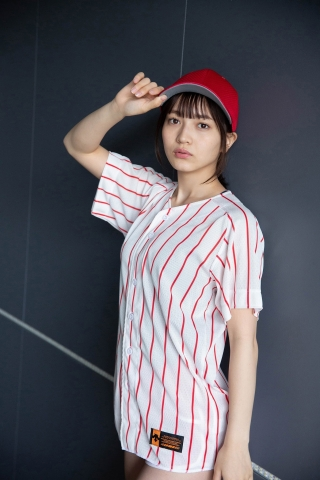 Nanako Kurosaki Baseball Girl and School Swimsuit006