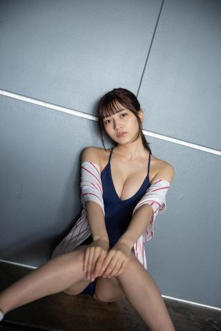 Nanako Kurosaki Baseball Girl and School Swimsuit010