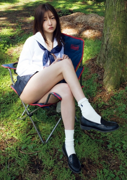 Moeka Hashimotothe presidents daughter with an ultra bodytried uniform camping and other activities007
